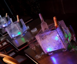 image of Night club table reservation with belvedere