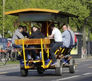 Amsterdam Beer Bike for Stag Weekend