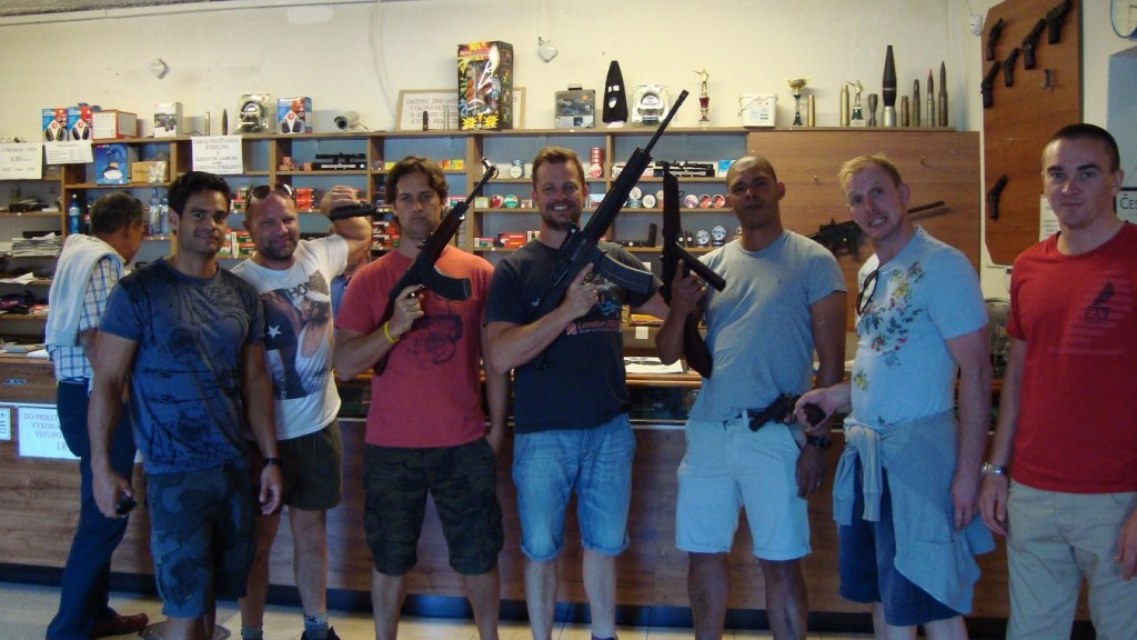 Cheap Stag Do shooting range