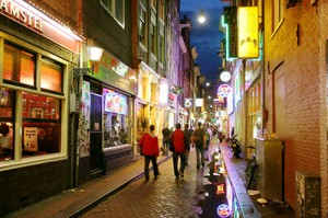 Amsterdam Stag Do Streets